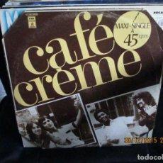 Discos de vinilo: CAFÉ CRÈME ?– CITATIONS ININTERROMPUES. Lote 213541990