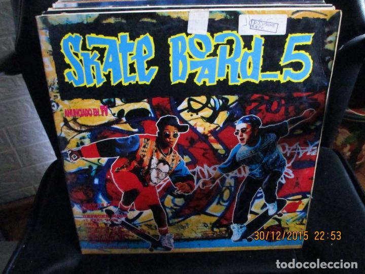 VARIOUS ?– SKATE BOARD -5 (Música - Discos - LP Vinilo - Techno, Trance y House)