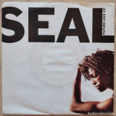 Discos de vinilo: SEAL – FUTURE LOVE EP GERMANY 1991. Lote 213551403