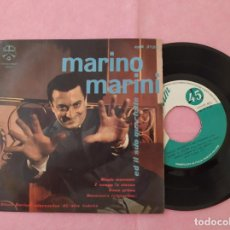 """Discos de vinilo: 7"""" SINGLE - MARINO MARINI ED IL SUO QUARTETTO ?– MAGIC MOMENTS / ITALY PRESS EP (VG++/EX). Lote 213551850"""