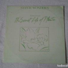Discos de vinilo: STEVIE WONDER -THE SECRET LIFE OF PLANTS- DOBLE LP GATEFOLD SLEEVE ED. ESPAÑOLA MOTOWN 300465XD. Lote 213556427