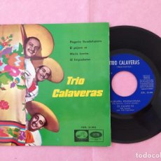 "Discos de vinilo: 7"" TRIO CALAVERAS – PLEGARIA GUALADAPUANA +3 SPAIN PRESS EP 13.394 (EX-/EX-). Lote 213556853"