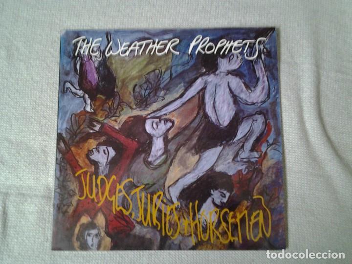 THE WEATHER PROPHETS -JUDGES, JURIES & HORSEMEN- LP CRECIONES ACCIDENTALES 1988 ED. ESPAÑOLA GA-223 (Música - Discos - LP Vinilo - Jazz, Jazz-Rock, Blues y R&B)