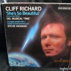 Discos de vinilo: CLIFF RICHARD ?– SHE'S SO BEAUTIFUL. Lote 213560312
