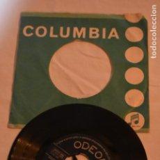 Discos de vinilo: DISCO VINILO SINGLE LUCHO GATICA EL RELOJ 1958 COLUMBIA ODEON. Lote 213560607