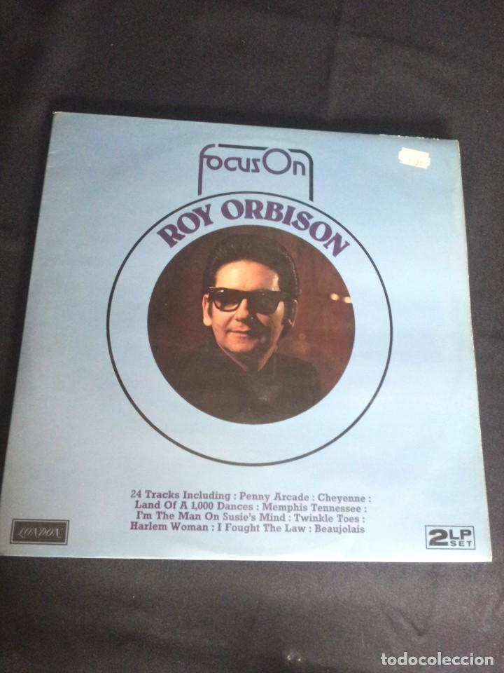 Discos de vinilo: ROY ORBISON - 2 LPS, FOCUS ON - LONDON DECCA 1976 - UK - Foto 2 - 213566735