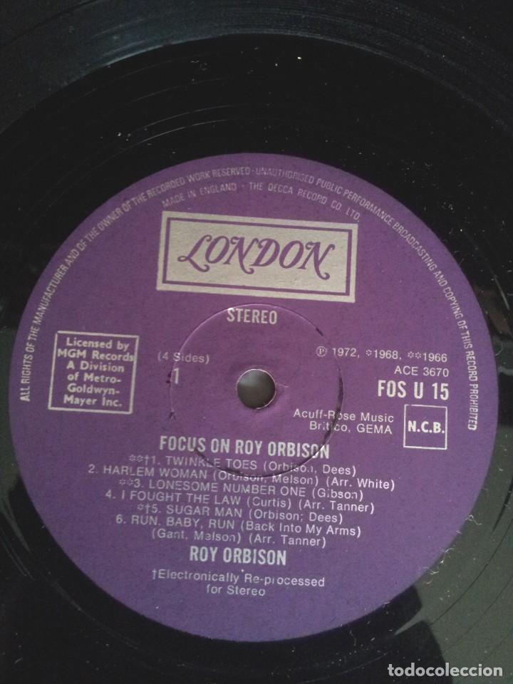 Discos de vinilo: ROY ORBISON - 2 LPS, FOCUS ON - LONDON DECCA 1976 - UK - Foto 6 - 213566735