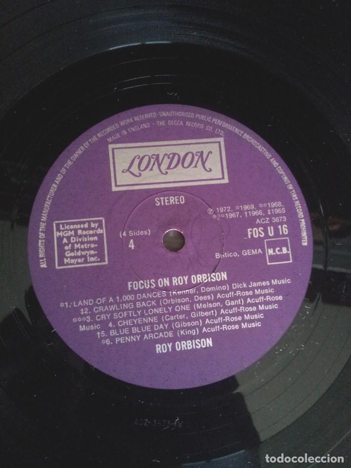 Discos de vinilo: ROY ORBISON - 2 LPS, FOCUS ON - LONDON DECCA 1976 - UK - Foto 12 - 213566735
