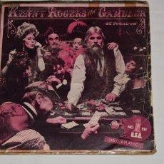 Discos de vinilo: DISCO VINILO SINGLE KENNY ROGERS THE GAMBLER SAN FRASCISCO MABEL JOY 1979. Lote 213567097