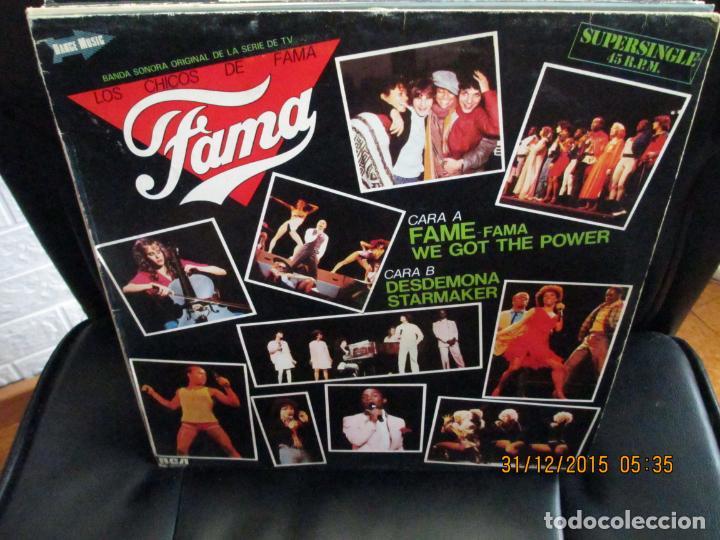 LOS CHICOS DE FAMA* ?– FAMA (Música - Discos de Vinilo - Maxi Singles - Bandas Sonoras y Actores)