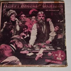 Discos de vinilo: DISCO VINILO SINGLE KENNY ROGERS THE GAMBLER SAN FRASCISCO MABEL JOY 1979. Lote 213567231