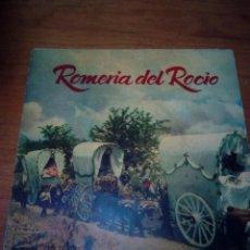 Discos de vinilo: ROMERÍA DEL ROCIO. LA VOZ DE SU AMO. SEVILLANAS DEL TAMBORILERO. AIRES DE LOS ROMEROS... CRV. Lote 213575425