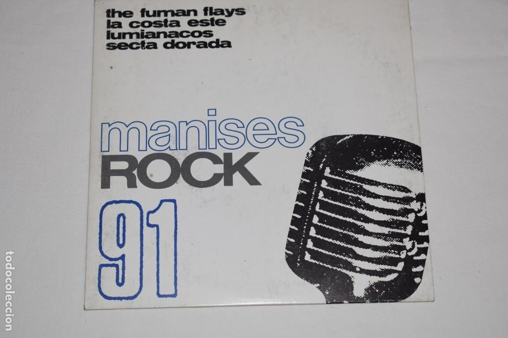 Discos de vinilo: Disco Vinilo Single Manises rock 91 Discoteca The Central Manises Valencia 1991 - Foto 1 - 213575562