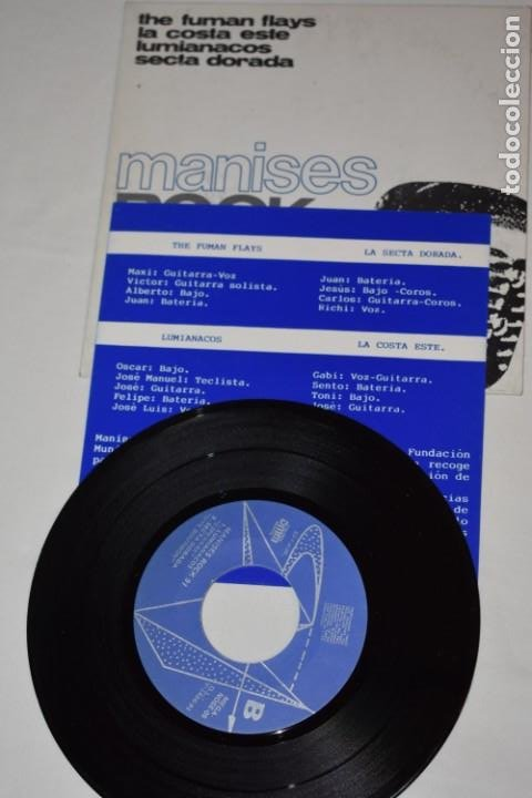 Discos de vinilo: Disco Vinilo Single Manises rock 91 Discoteca The Central Manises Valencia 1991 - Foto 4 - 213575562