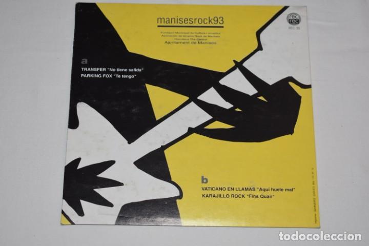 Discos de vinilo: Disco Vinilo Single Manises rock 93 Discoteca The Central Manises Valencia 1993 - Foto 2 - 213575681