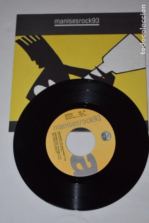 Discos de vinilo: Disco Vinilo Single Manises rock 93 Discoteca The Central Manises Valencia 1993 - Foto 3 - 213575681
