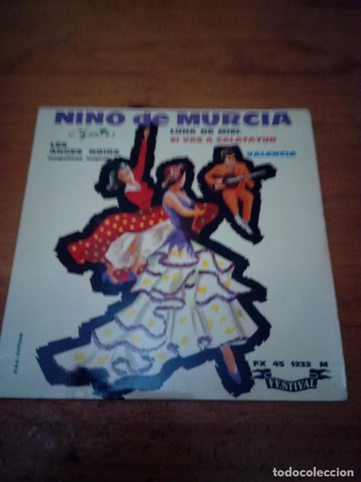 NINO DE MURCIA LUNA DE MIEL. VALENCIA. ANGELITOS NEGRO. SI VAS A CALATAYUD. CRV (Música - Discos de Vinilo - EPs - Flamenco, Canción española y Cuplé)