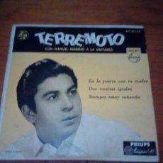 Discos de vinilo: TERREMOTO CON MANUEL MORENO A LA GUITARRA. CRV. Lote 213576066
