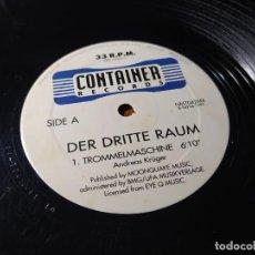 Disques de vinyle: MAXI - DER DRITTE RAUM ?– TROMMELMASCHINE - NM7042MX ( VG / GENERIC) SPAIN 1997. Lote 213576116