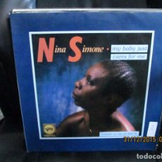 Discos de vinilo: NINA SIMONE ?– MY BABY JUST CARES FOR M. Lote 213578620