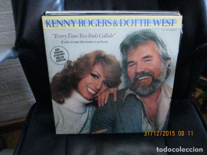 KENNY ROGERS & DOTTIE WEST ?– EVERY TIME TWO FOOLS COLLIDE (Música - Discos - LP Vinilo - Country y Folk)