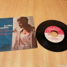 Disques de vinyle: ARETHA FRANKLIN. LA CASA QUE JACK CONSTRUYÓ, REZO UNA PEQUEÑA ORACION.. Lote 213595463