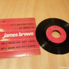 Discos de vinilo: JAMES BROWN. IT'S A MAN'S MAN'S... EP. Lote 213597032