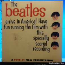 Discos de vinilo: SG THE FOTO-FI FOUR ( THE BEATLES ARRIVE IN AMERICA ! ) : STAND UP AND HOLLER. Lote 213598730