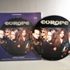 Discos de vinilo: VINILO PICTURE SINGLE 12 EUROPE HALWAY TO HEAVEN EDICIÓN LIMITADA.. Lote 213600577