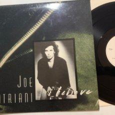 Discos de vinilo: MAXI JOE SATRIANI I BELIEVE DE UK 1990. Lote 213604180