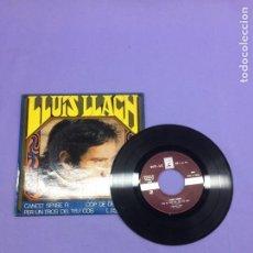Discos de vinilo: SINGLE -- LLUIS LLACH --CANÇO SENSE FI -- ESPAÑA --VG++. Lote 213604561