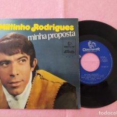 "Discos de vinilo: 7"" SINGLE - MILTINHO RODRIGUES – MINHA PROPOSTA PORTUGAL PRESS EP -EP-82-61 (VG++/VG++). Lote 213607850"