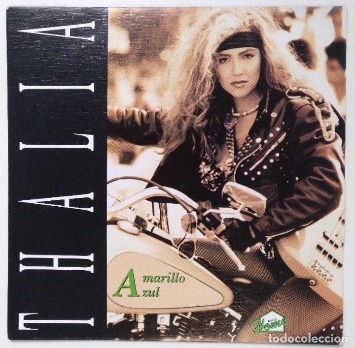 """THALIA -AMARILLO AZUL [[EXCLUSIVO RARO Y DIFÍCIL DE CONSEGUIR]] [[ VINILO 7"""" 45RPM ]] (Música - Discos - Singles Vinilo - Grupos Españoles de los 90 a la actualidad)"""