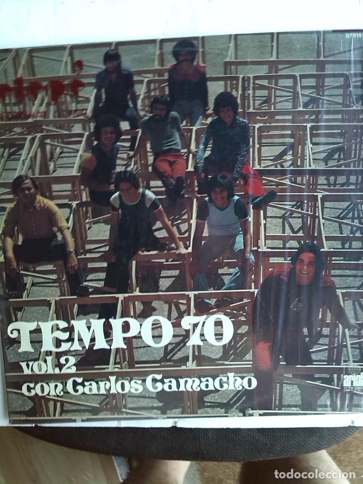 TEMPO 70 VOL 2 CON CARLOS CAMACHO 1974 (Música - Discos - LP Vinilo - Grupos y Solistas de latinoamérica)