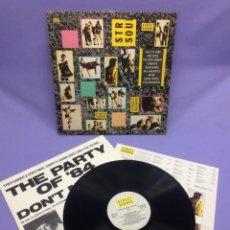 Discos de vinilo: LP STREET SOUNDS & STREET WAVES -- VG+. Lote 213619618