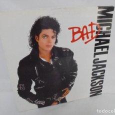 Discos de vinilo: MICHAEL JACKSON. BAD. LP VINILO. DISCOGRAFIA EPIC CBS. 1987. Lote 213630182