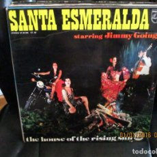 Discos de vinilo: SANTA ESMERALDA ?– THE HOUSE OF THE RISING SUN. Lote 213631560