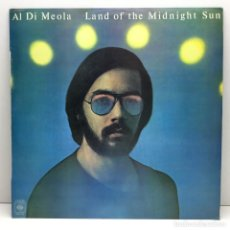 Discos de vinilo: LP - DISCO - VINILO - AL DI MEOLA - LAND OF THE MIDNIGHT SUN - AÑO 1976. Lote 213631677