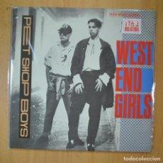 Disques de vinyle: PET SHOP BOYS - WEST END GIRLS - MAXI. Lote 213635347