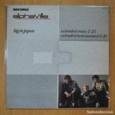 Disques de vinyle: ALPHAVILLE - BIG IN JAPAN - MAXI - LP. Lote 213635685