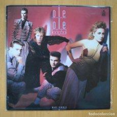 Disques de vinyle: OLE OLE - LILI MARLEN - MAXI. Lote 213635730