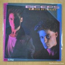 Disques de vinyle: BICEPS - MUÑECO DE FICCION - MAXI. Lote 213635738