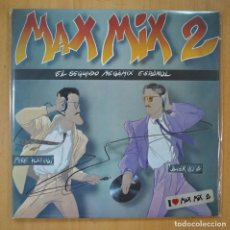 Discos de vinil: MIKE PLATINAS / JAVIER USSIA - MAX MIX 2 - GATEFOLD - MAXI. Lote 213635755