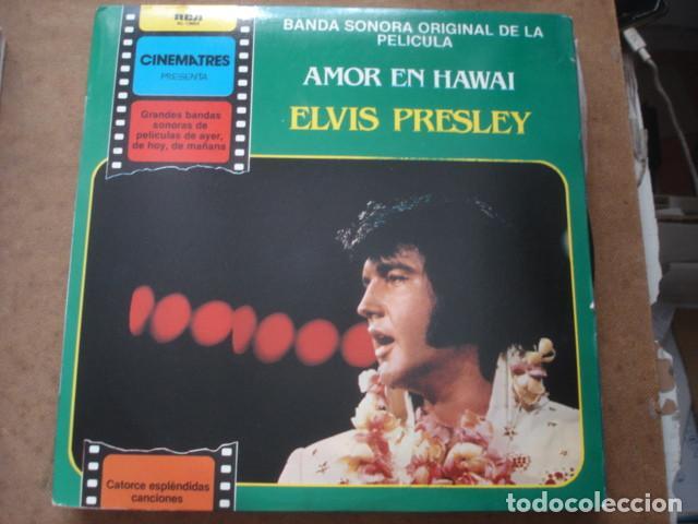 ELVIS PRESLEY BANDA SONORA ORIGINAL DE LA PELICULA AMOR EN HAWAI (Música - Discos - LP Vinilo - Rock & Roll)