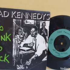 Discos de vinil: DEAD KENNEDYS. TOO DRUNK TO FUCK. CHERRY RED RECORDS. SINGLE 1981.. Lote 213640663
