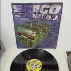 Discos de vinilo: MAXI SINGLE DISCO VINLO SIRAGO FEAT CHUMI DJ FOLLOW MY DREAMS. Lote 213642442