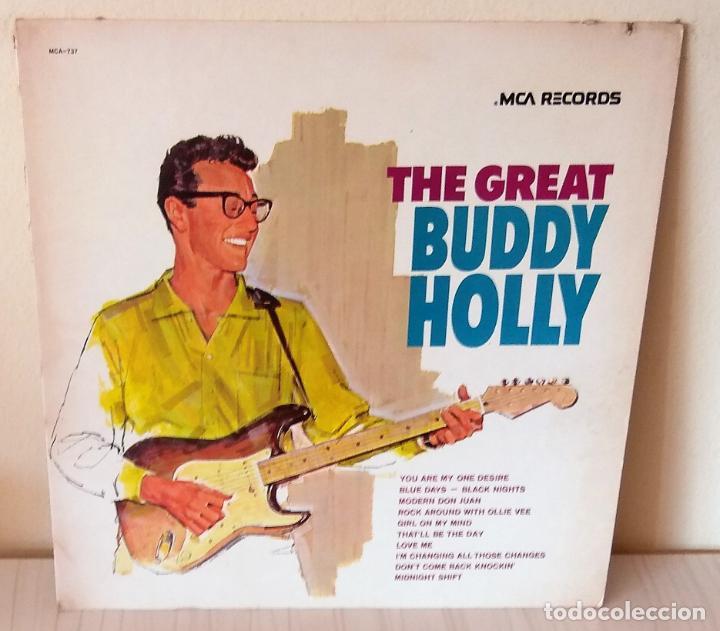 BUDDY HOLLY - THE GREAT M C A EDIC. AMERICANA - 1975 (Música - Discos - LP Vinilo - Rock & Roll)