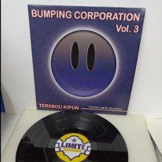 Discos de vinilo: MAXI SINGLE DISCO VINILO BUMPING CORPORATION VOL 3 TEREBOU KIPON. Lote 213642787