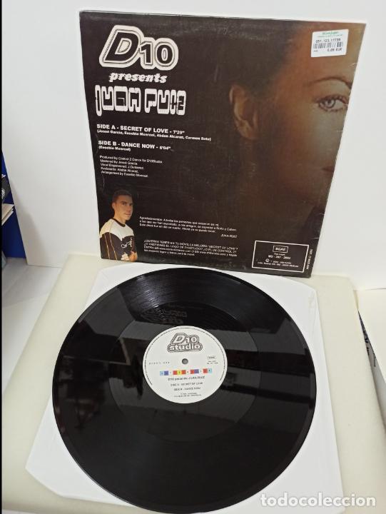 Discos de vinilo: MAXI SINGLE DISCO VINILO JUAN RUIZ SECRET OF LOVE - Foto 2 - 213643005