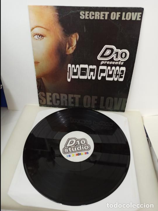 MAXI SINGLE DISCO VINILO JUAN RUIZ SECRET OF LOVE (Música - Discos de Vinilo - Maxi Singles - Techno, Trance y House)